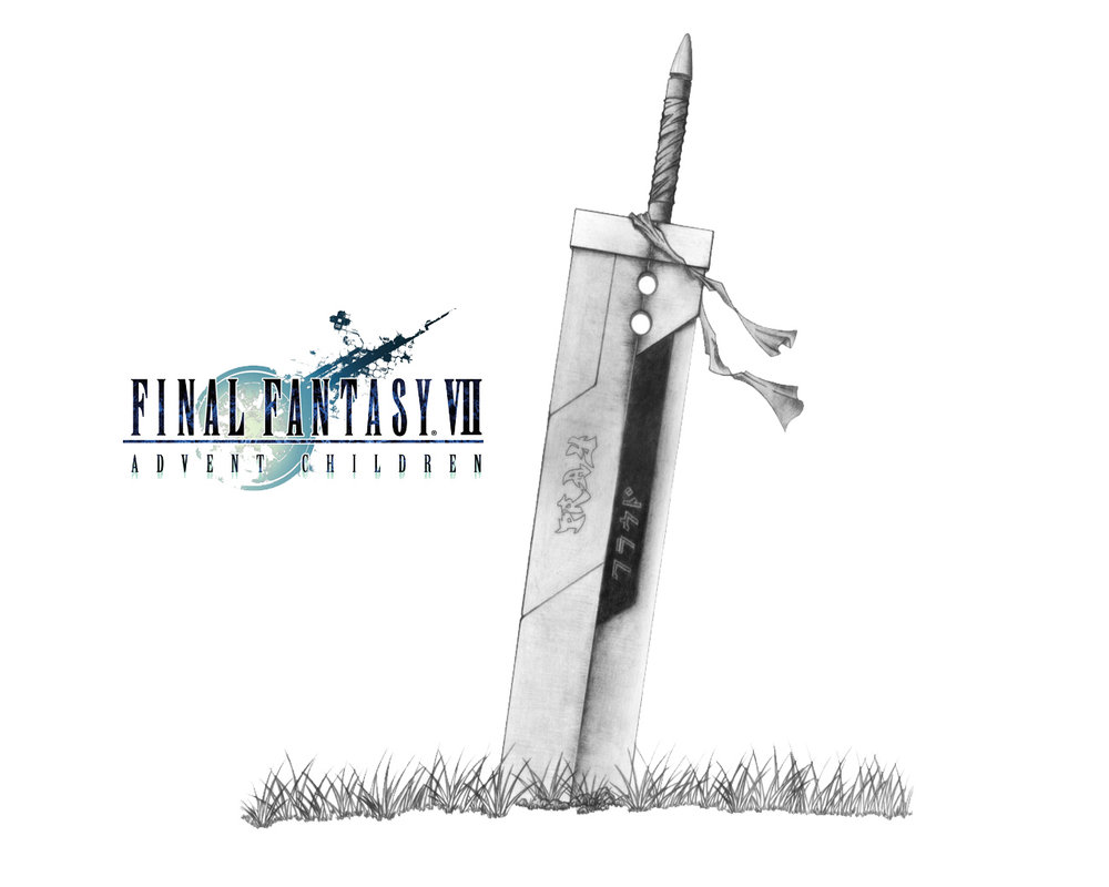 Buster Sword Wallpaper By Wolinpiotr Final Fantasy Vii Know Your