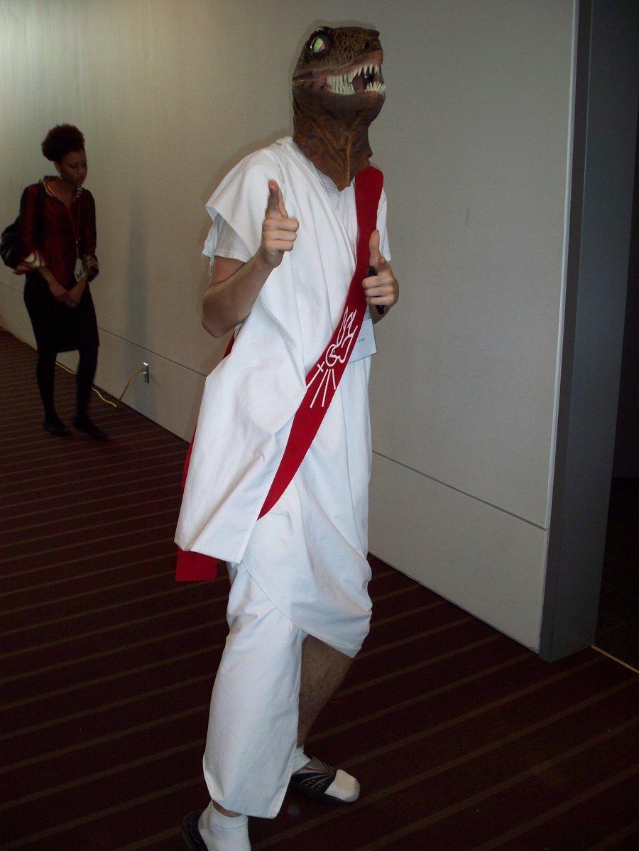 clothing white costume dobok outerwear & Image - 193098]   Raptor Jesus   Know Your Meme