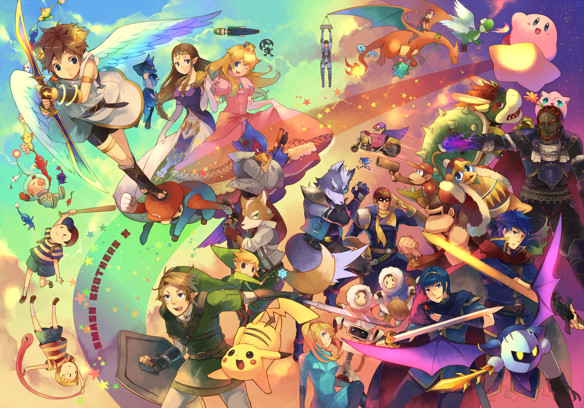 Image result for smash ultimate fanart