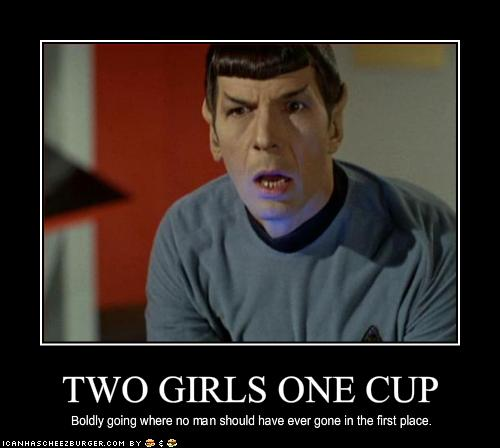 2 Girls One Cup Reaction