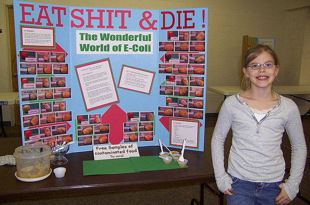 EAT SHIT DIE The Wonderful World Of E Coli Free Samples Contamineted