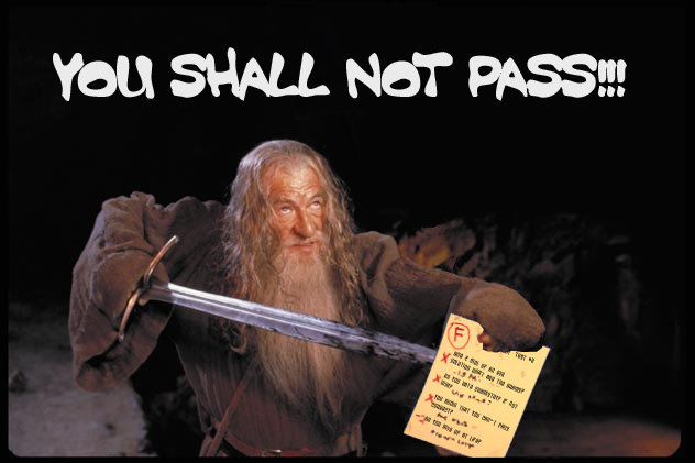 Image 222565 You Shall Not Pass Know Your Meme