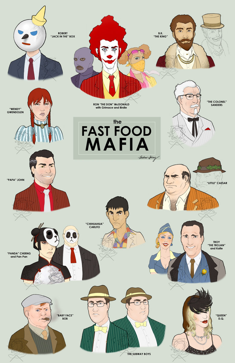 Fast Food Mafia Alternate Universe Know Your Meme