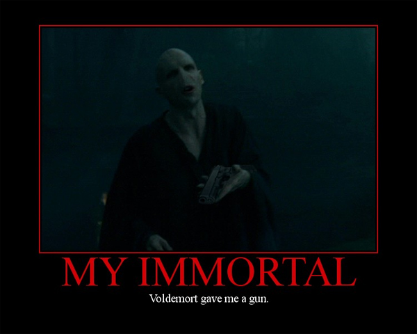 Image - 233275]   My Immortal / The Worst Fanfiction Ever   Know