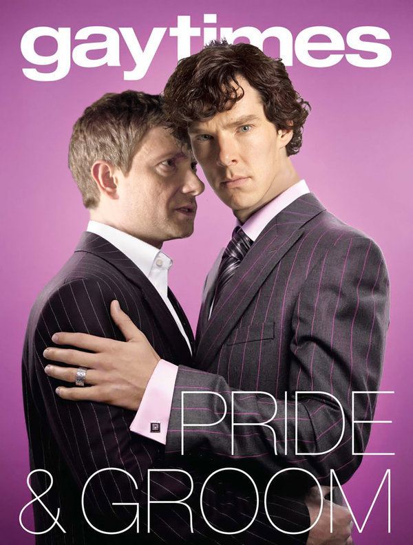 Are not Dr sherlock holmes and watson yaoi not