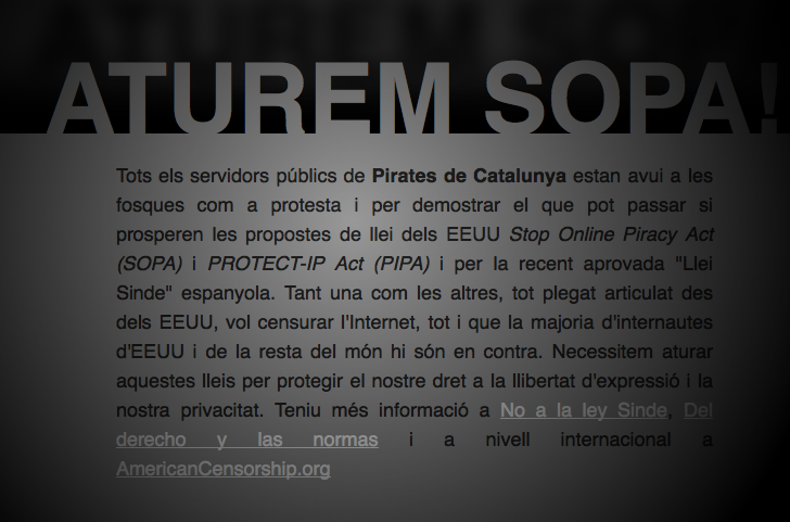 a comparison of the stop online privacy act sopa and protect ip act pipa in curbing piracy in the un The intellectual property chapter has also alarmed internet freedom activists, who believe the proponents of the failed us stop online piracy act (sopa) and the senate's protect ip act (pipa), which were scuttled due to public opposition in 2012, are aiming to implement a similar regime under the cover of the tpp.