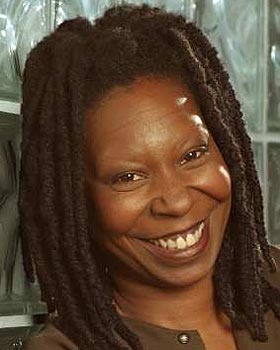Whoopi have eyebrows no why does goldberg What happened