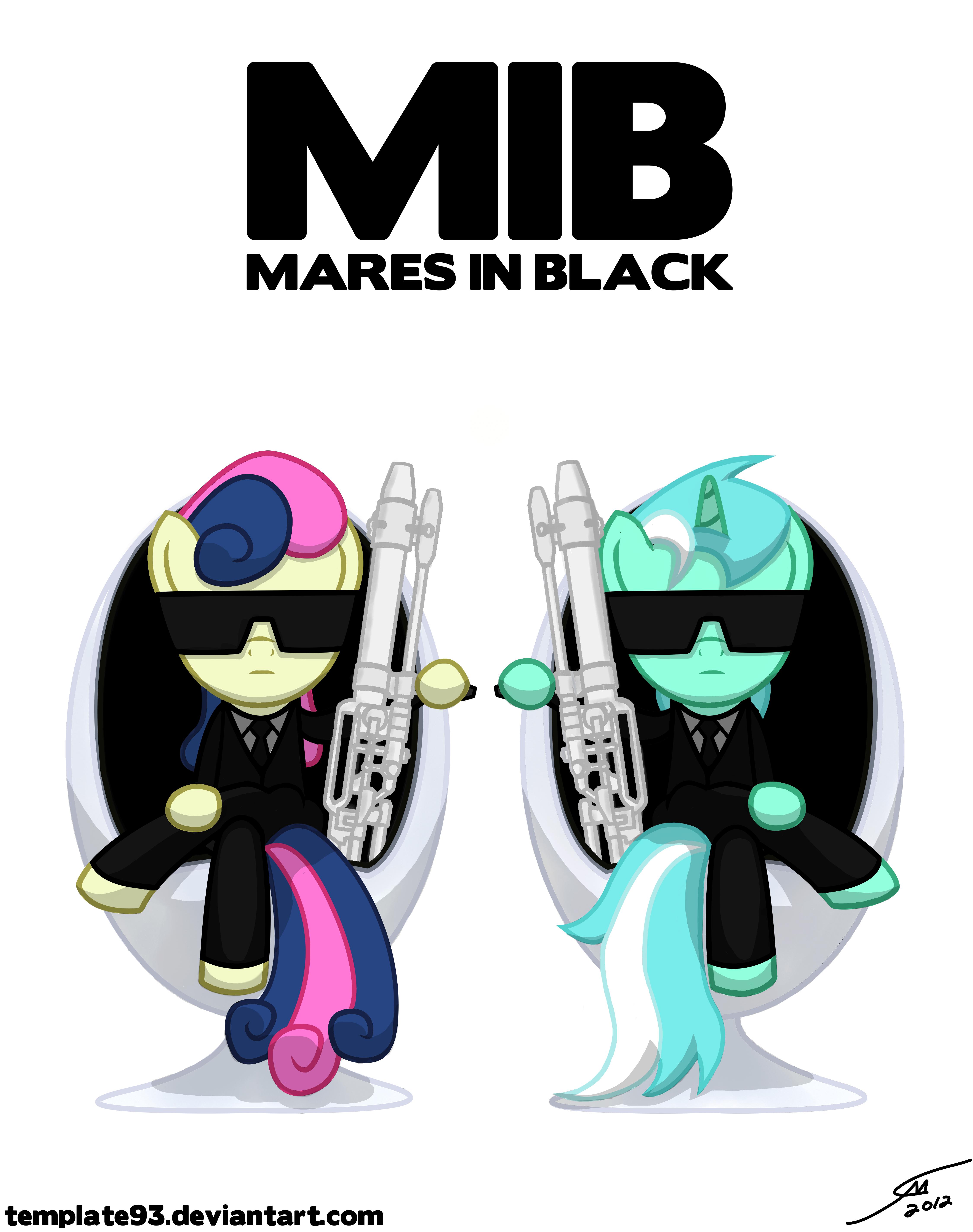 MARES IN BLACK Template93deviantart