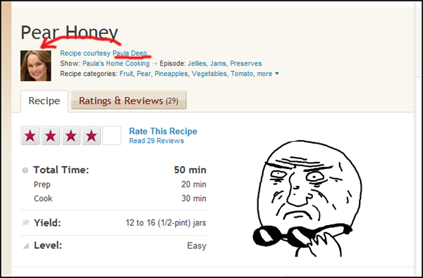 image 268960 food network recipe reviews know your meme