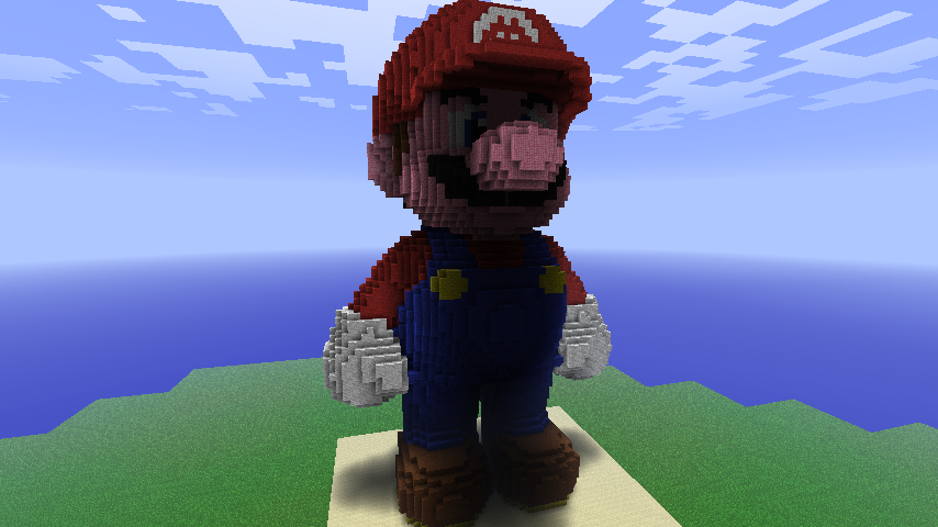 Minecraft Mario Minecraft Pixel Art Know Your Meme