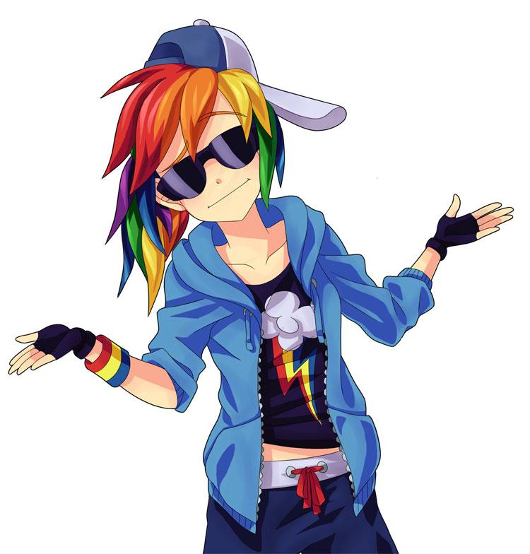 Rainbow Dash Pinkie Pie Rarity Applejack Pony Human Hair Color Anime Mangaka Fictional Character