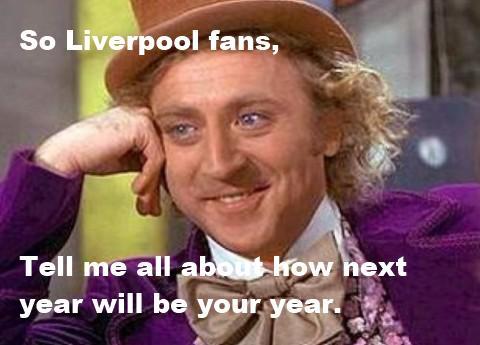 Image result for Liverpool fans meme