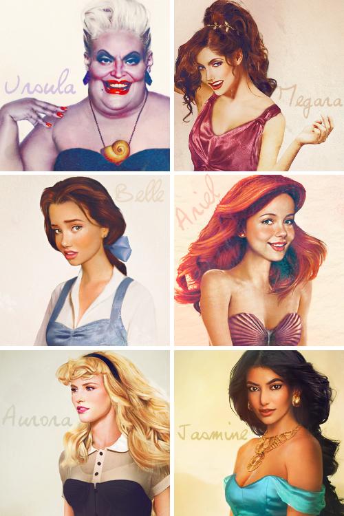 Disney Princesses 3d Look Disney Know Your Meme