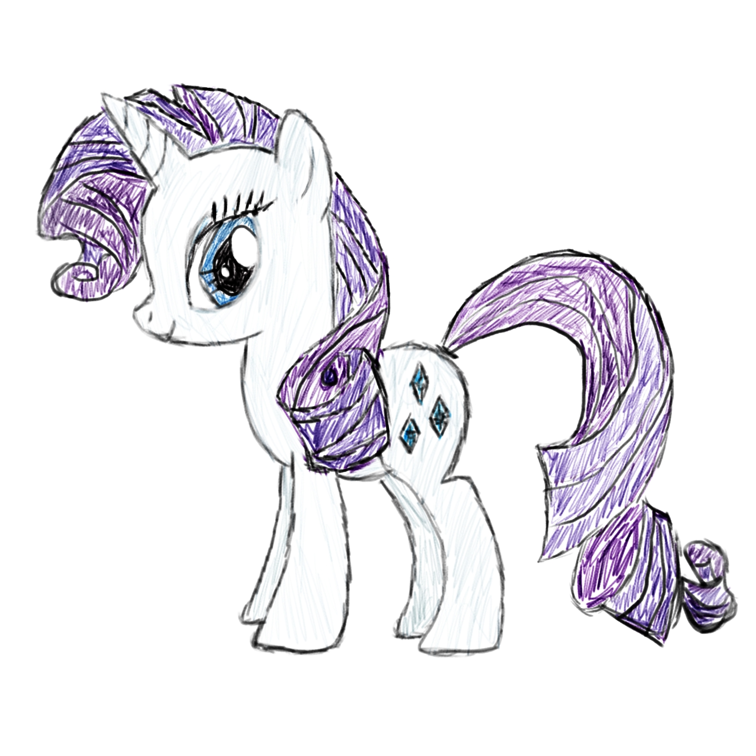 rarity drawing my little pony friendship is magic know your meme