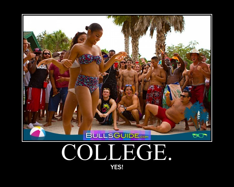 Bikini beer college girls agree, this