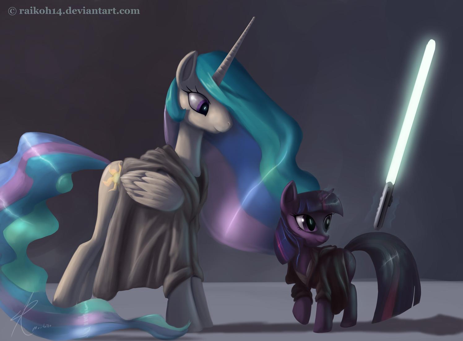 Raikon14deviantart Twilight Sparkle Princess Celestia Rarity Pinkie Pie Pony Vertebrate Horse