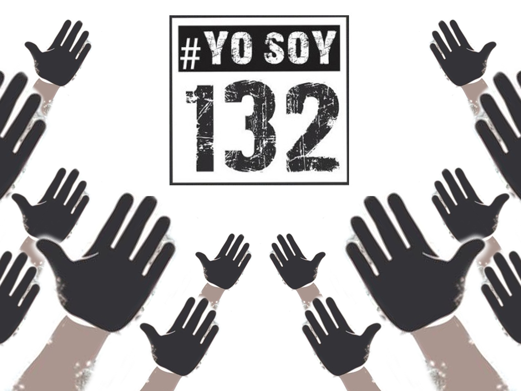 #YO SOY 132 Universidad Iberoamericana Ciudad de México Yo Soy 132 Televisa  hand glove finger
