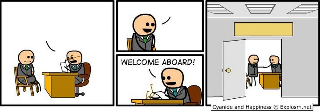 Template Welcome Aboard Know Your Meme