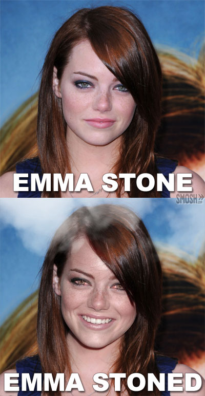 Emma Stoned Name Puns Know Your Meme