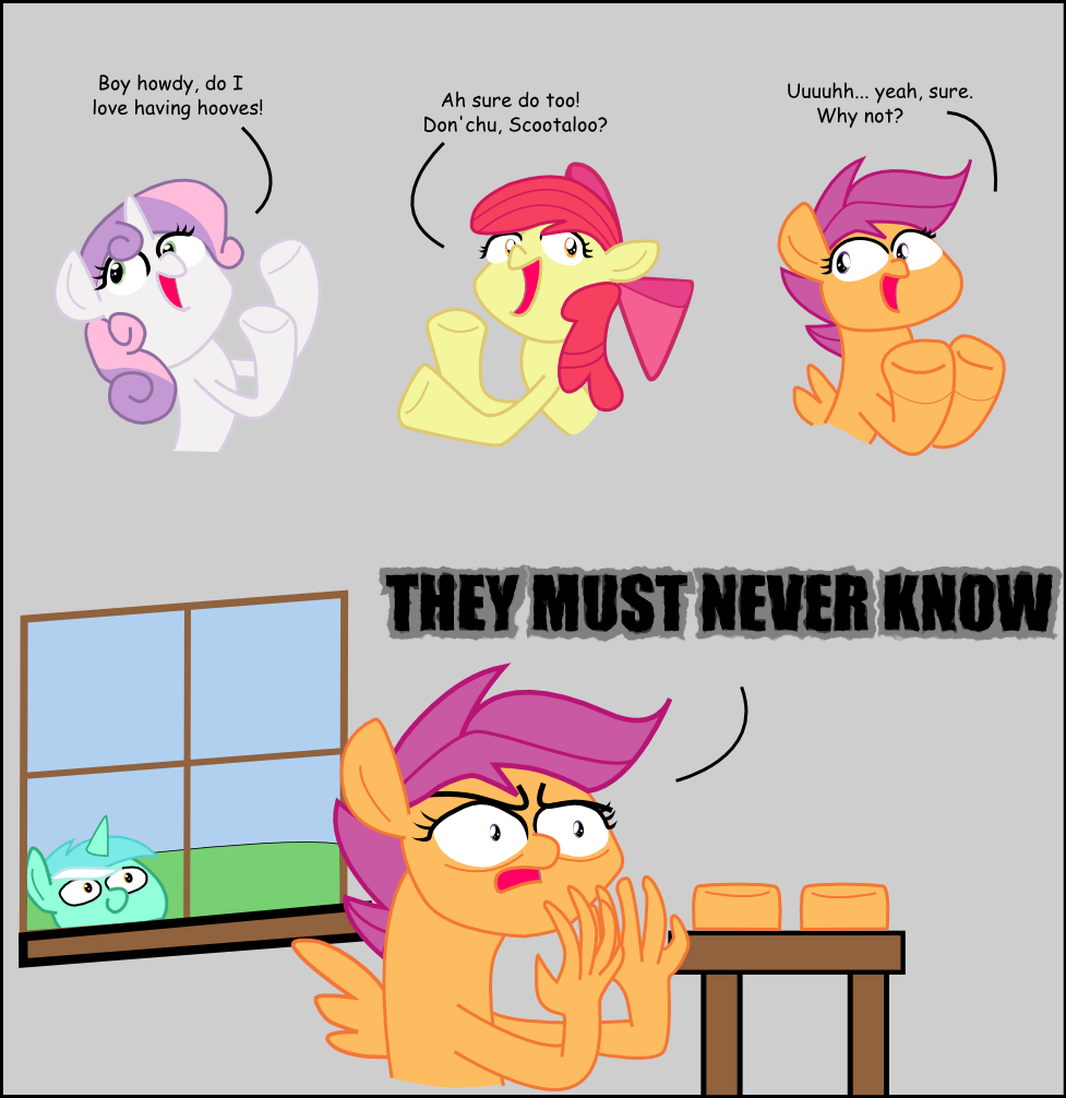 Scootaloo S Secret My Little Pony Friendship Is Magic Know Your Meme But i hope you enjoy this! little pony friendship is magic