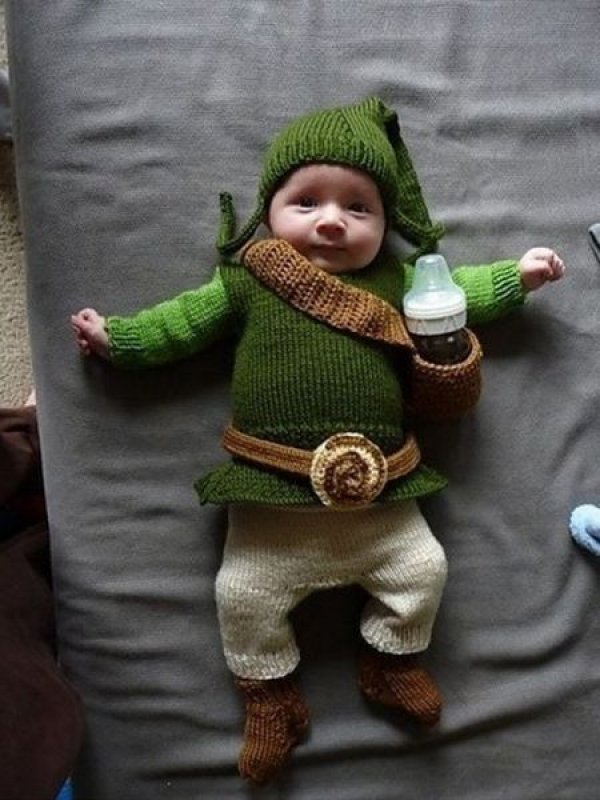 BABY LINK Costume Cosplay Costume