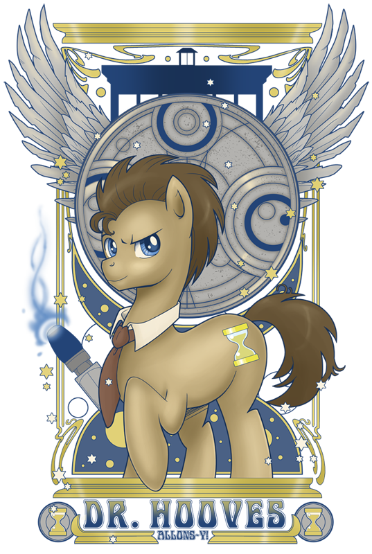 Image 348832 Doctor Whooves Time Turner Know Your Meme
