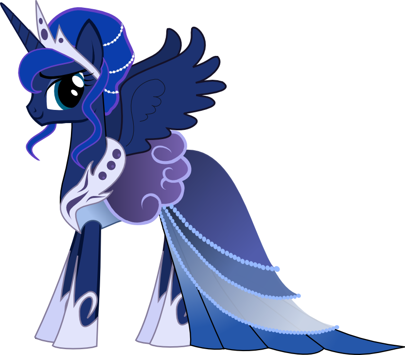 princess luna gala dress my little pony friendship is magic