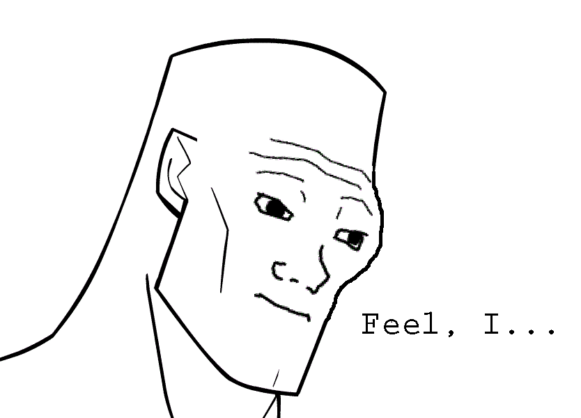 Feel I Line Art Face White Black Facial Expression And Nose Person Smile