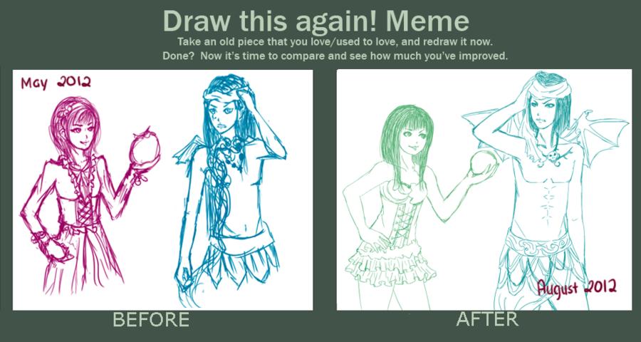 Meme Sketch This Again Draw This Again Know Your Meme