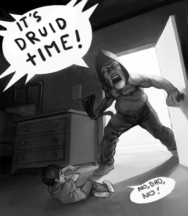 Картинки по запросу друид мем