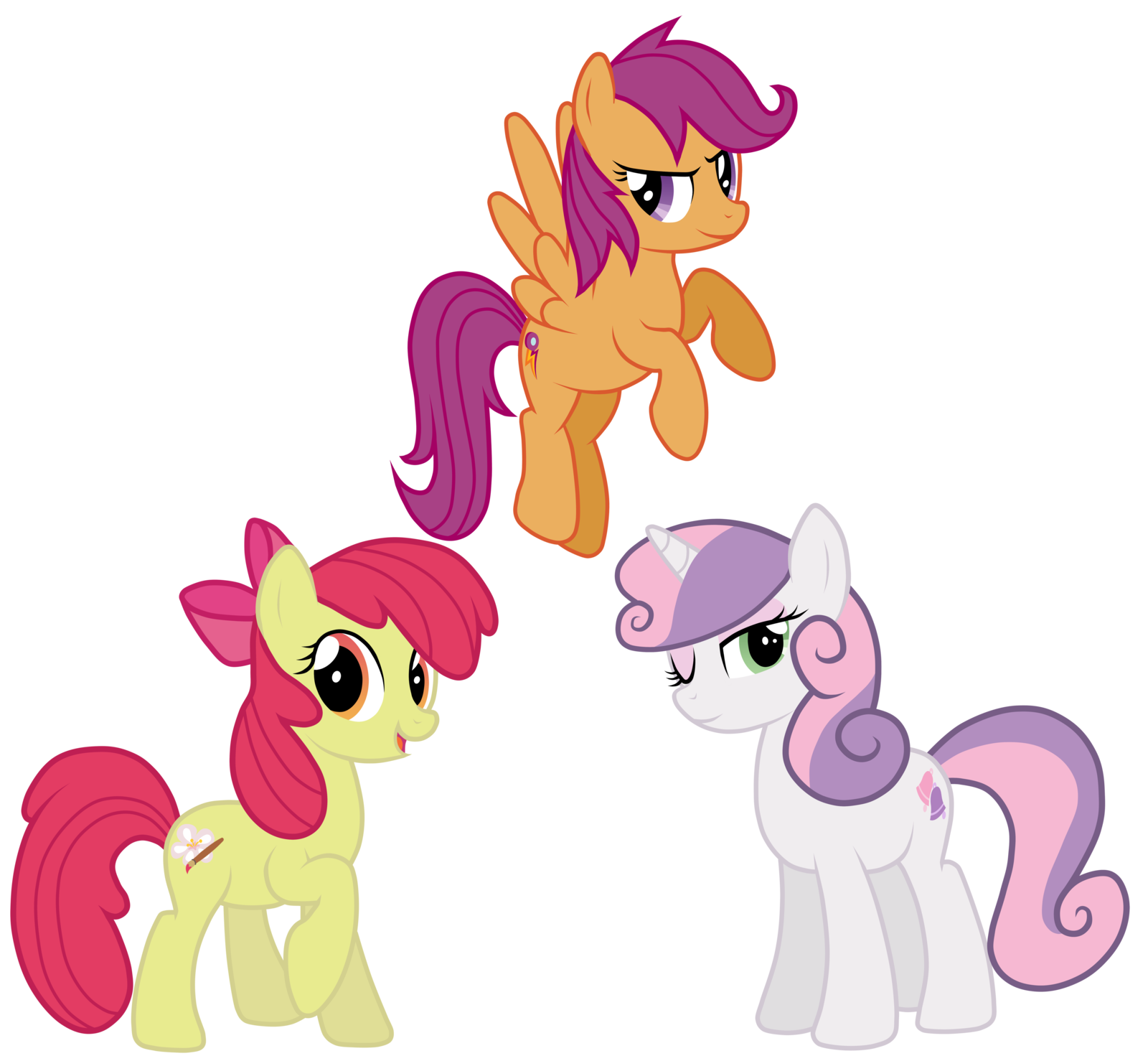 Grown Up Cmc My Little Pony Friendship Is Magic Know Your Meme First vector, feedback is appreciated (scootaloo's fear face). little pony friendship is magic