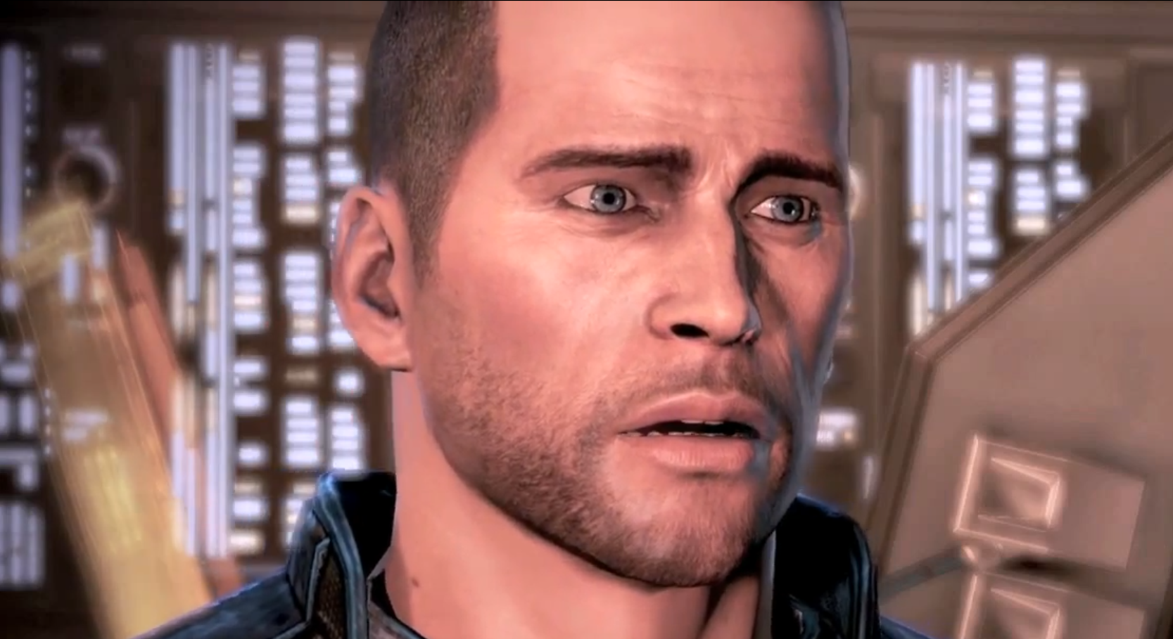 Shocked Shepard Reaction Images Know Your Meme