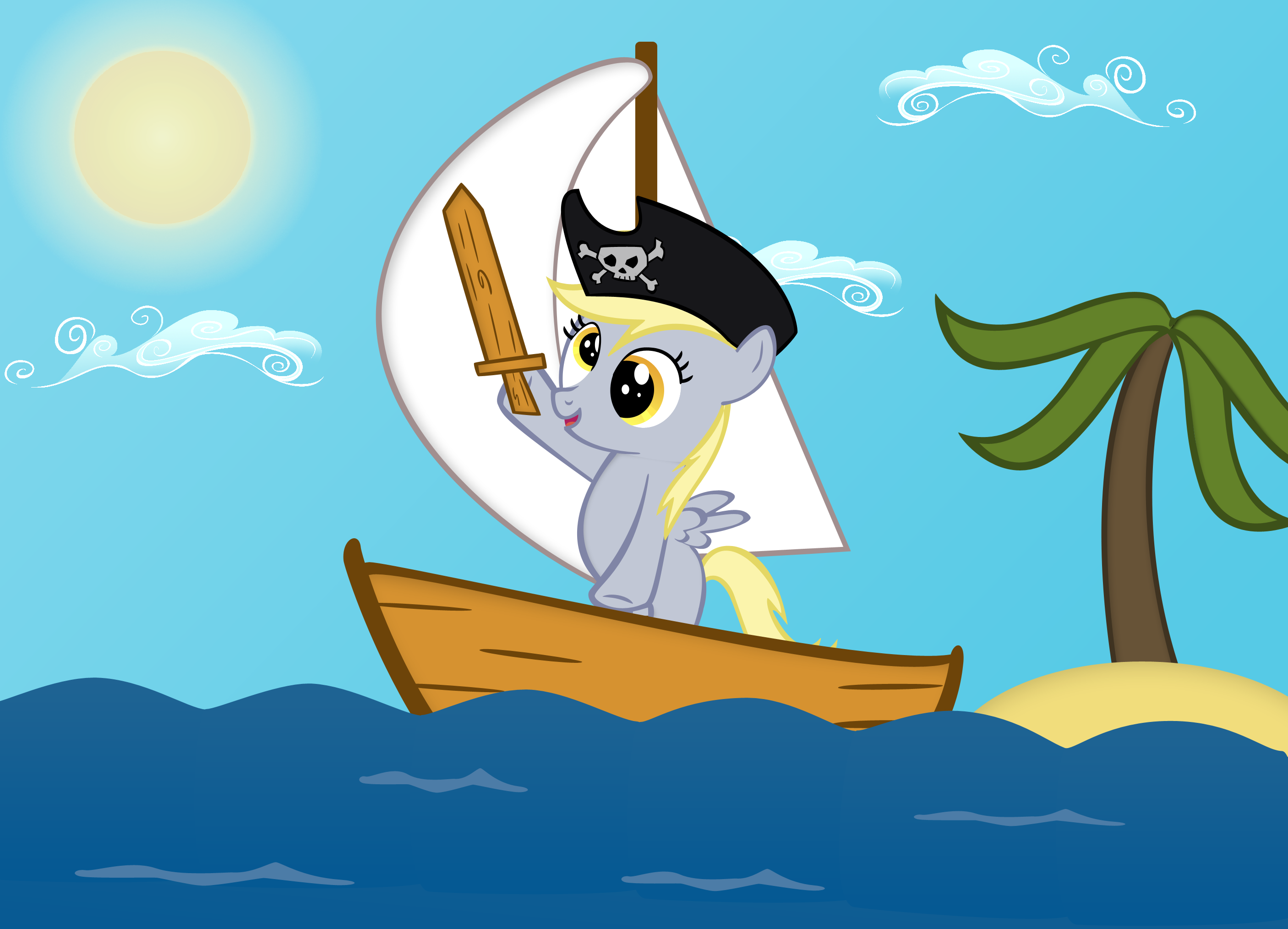 Derpy the Pirate | My Little Pony: Friendship is Magic | Know Your ...