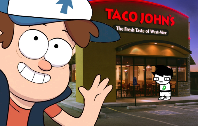 Image 388661 Dipper Goes To Taco Bell Know Your Meme
