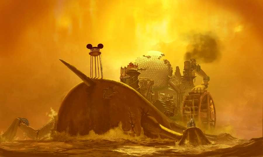 Epic Mickey All Concept Art