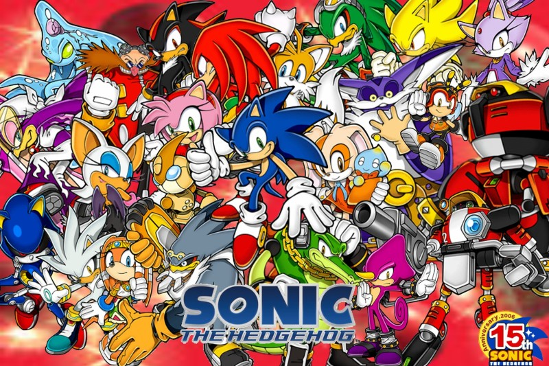 The Sonic The Hedgehog Full Cast Sonic The Hedgehog Know Your Meme