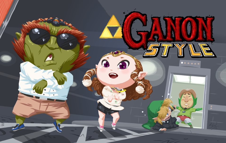 Ganon Style The Legend Of Zelda Know Your Meme