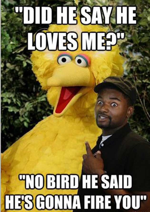 Image 412230 Fired Big Bird Mitt Romney Hates Big