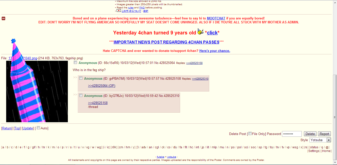 Ship | 4chan | Know Your Meme