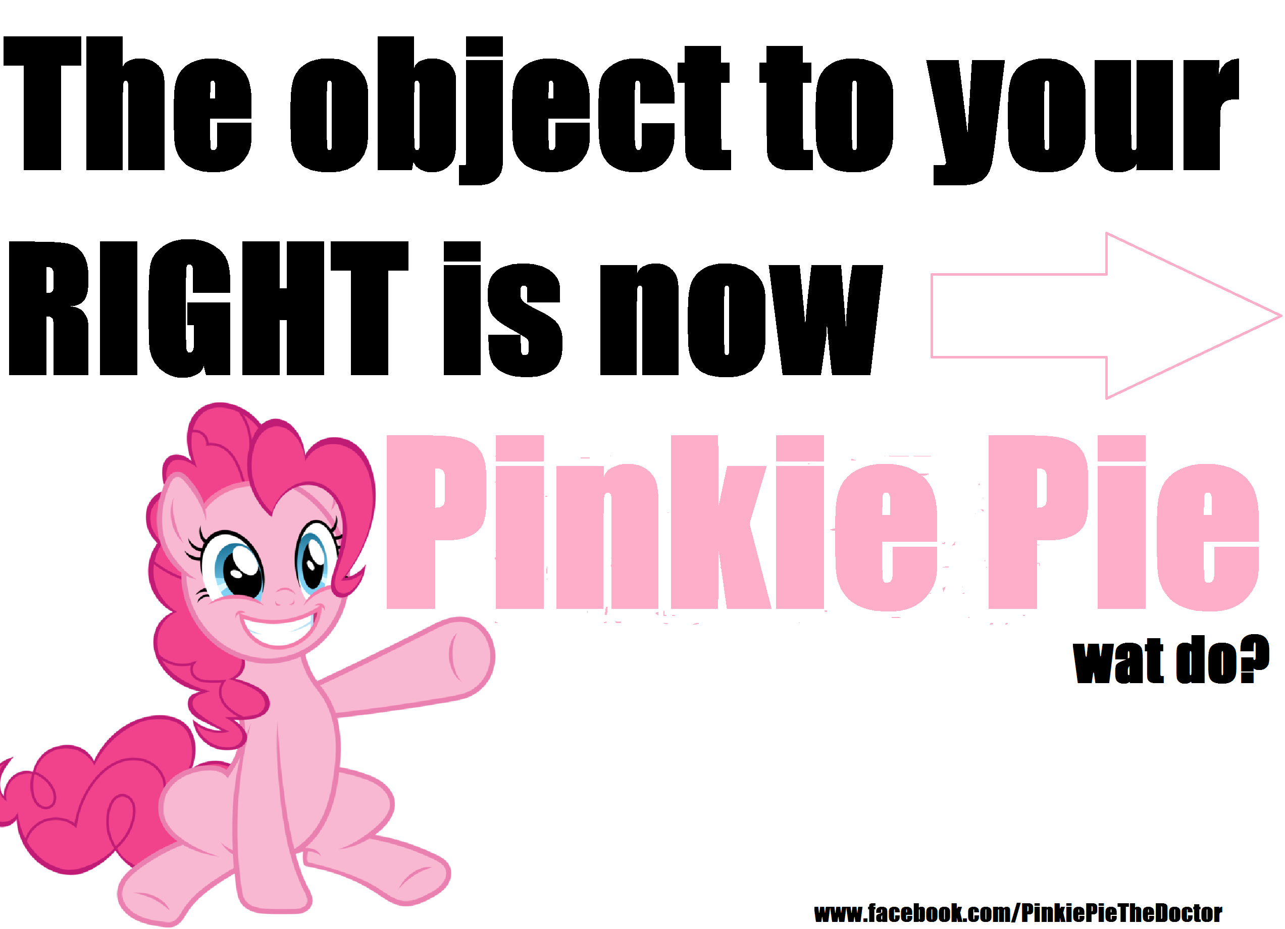 Pinkie Pie Object To Right My Little Pony Friendship Is Magic