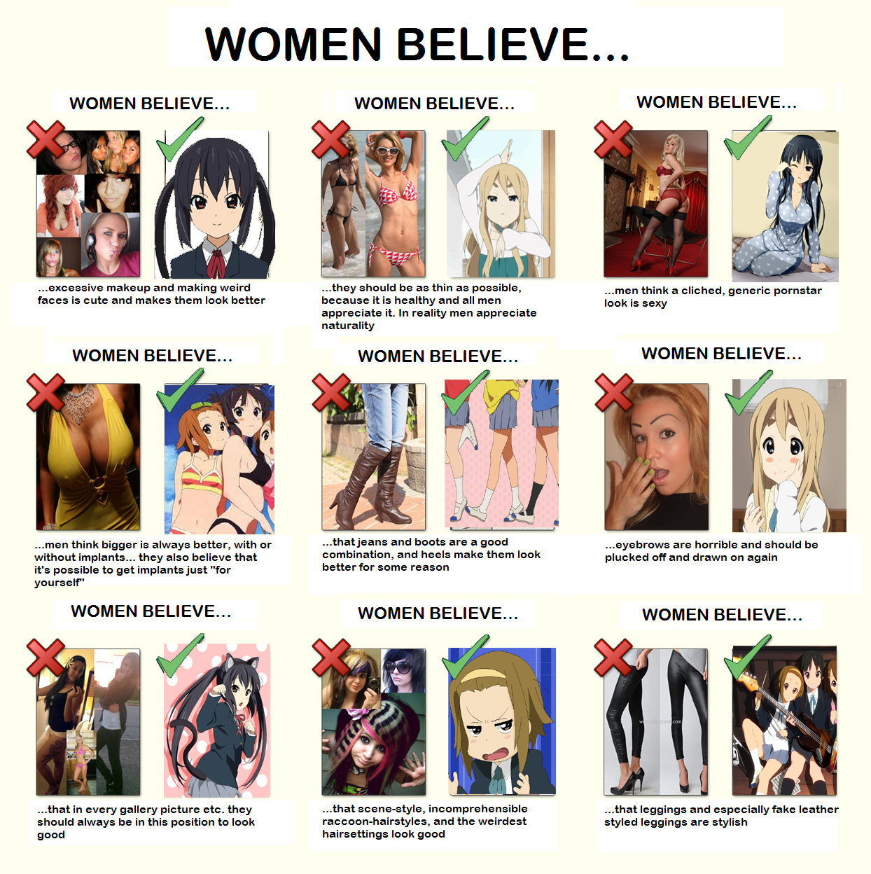 2d>3d | Women Logic | Know Your Meme