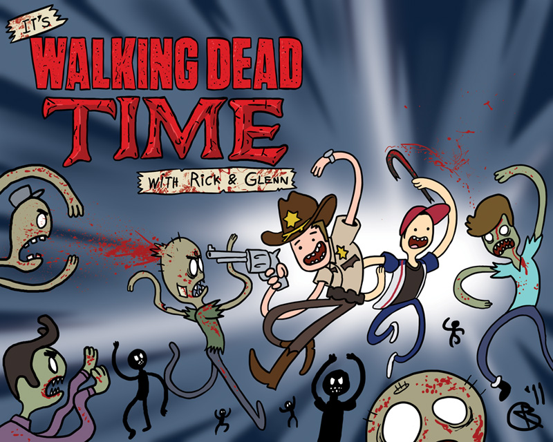 Guess What Time Is It The Walking Dead Know Your Meme