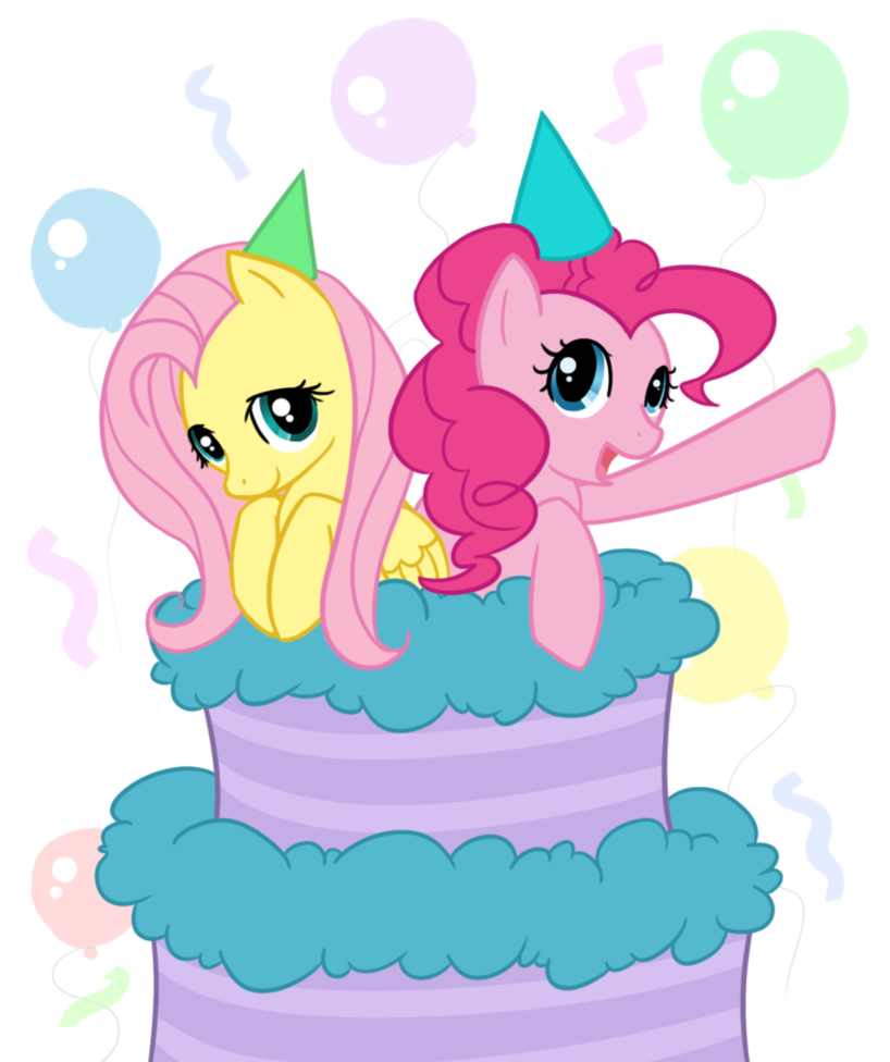 Pinkie Pie Fluttershy Pink Mammal Cartoon Vertebrate Fictional Character  Horse Like Mammal Clip Art