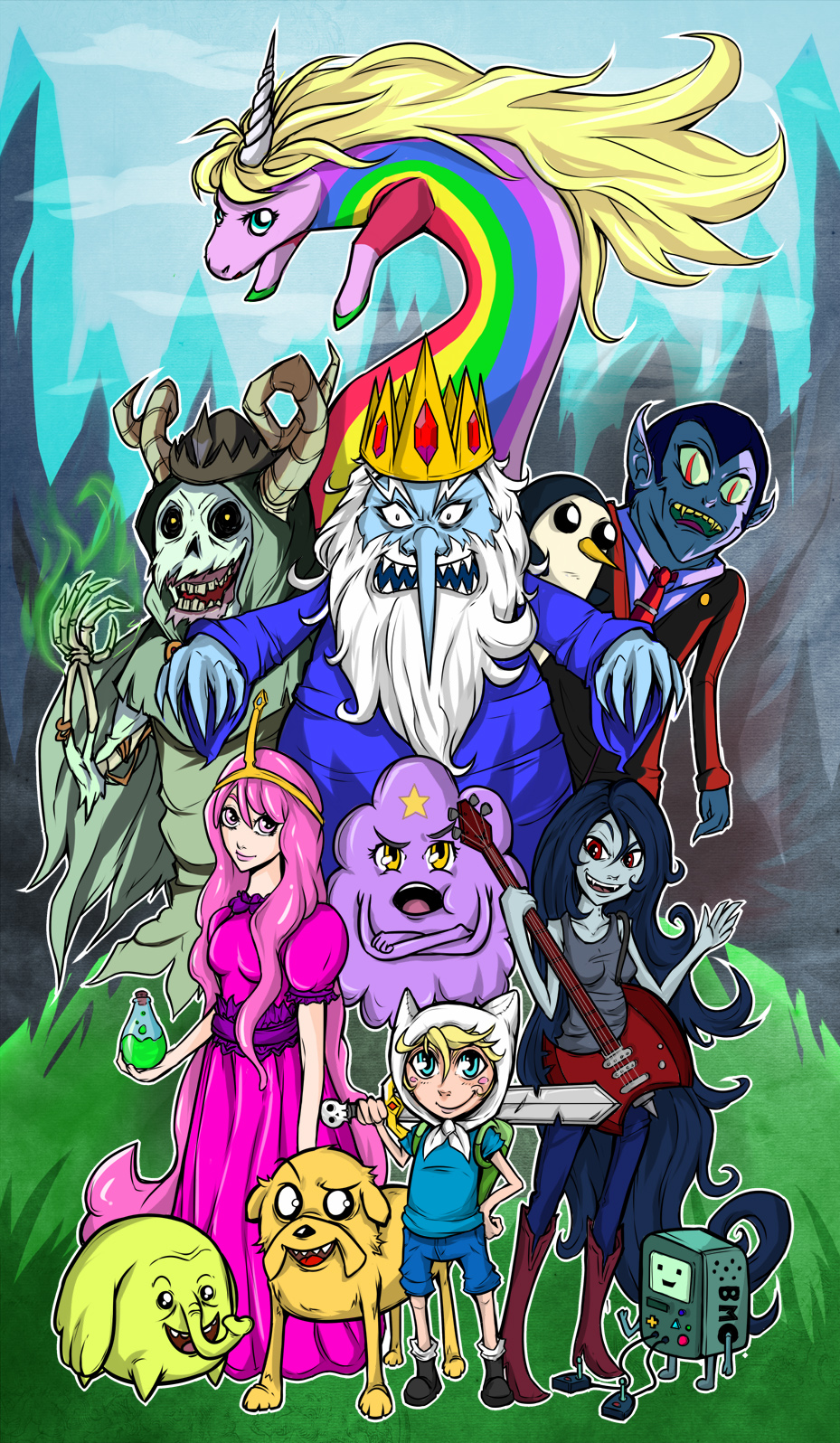 Adventure Time Character Wallpaper