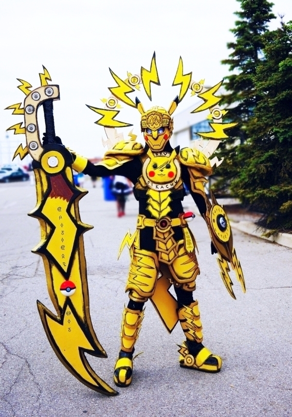 Pikachu Costume yellow & P.I.K.A.C.H.U. Battle Armor | Cosplay | Know Your Meme