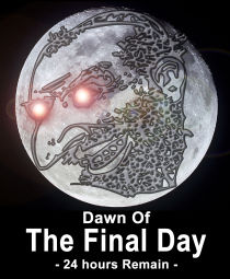 one day left