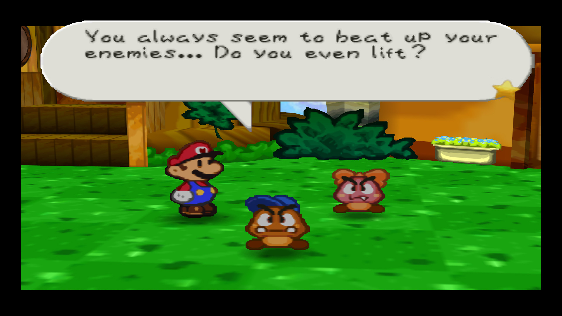 Paper Mario Lifts Paper Do You Even Lift Know Your Meme