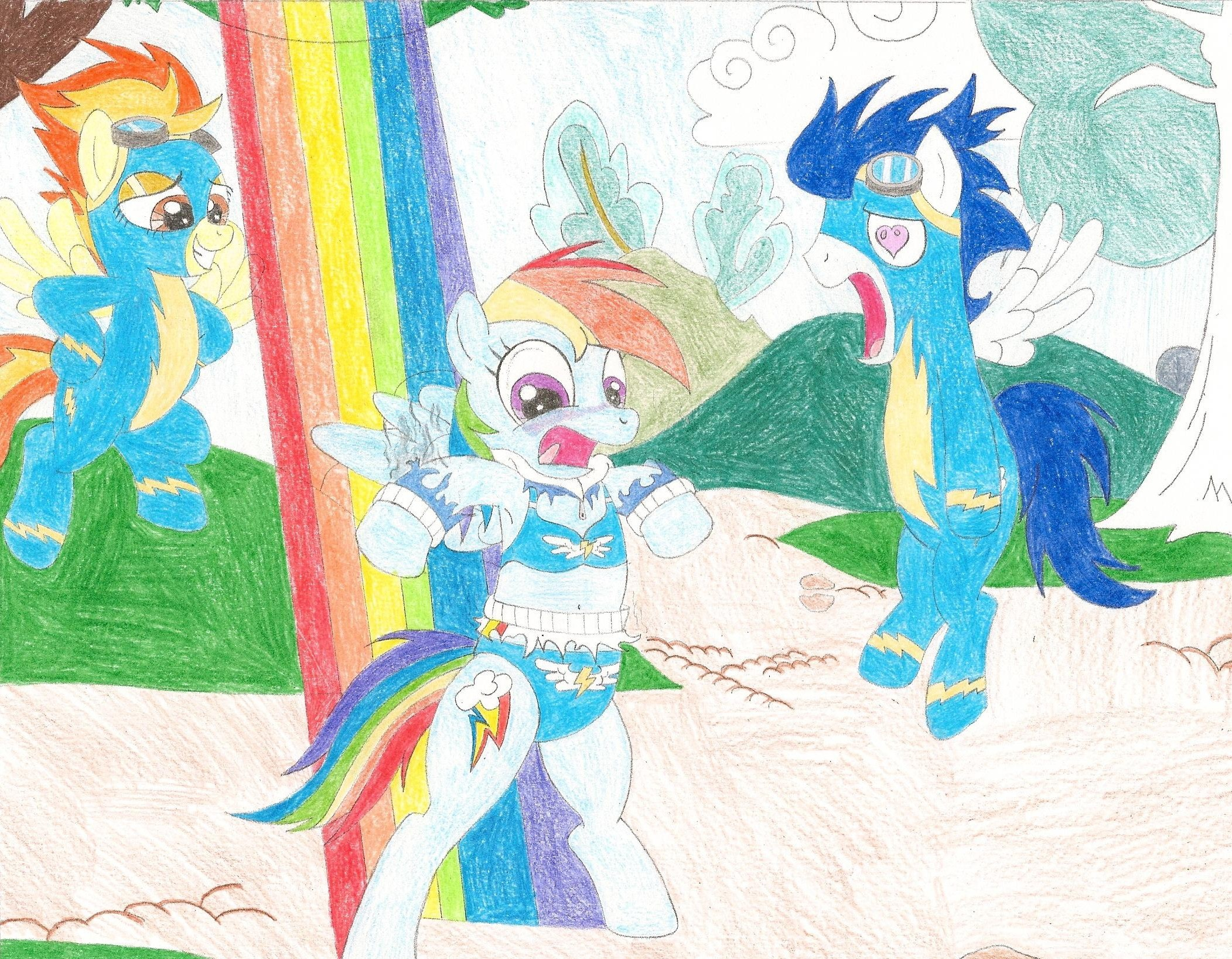 dash s clothes burnt up my little pony friendship is magic know