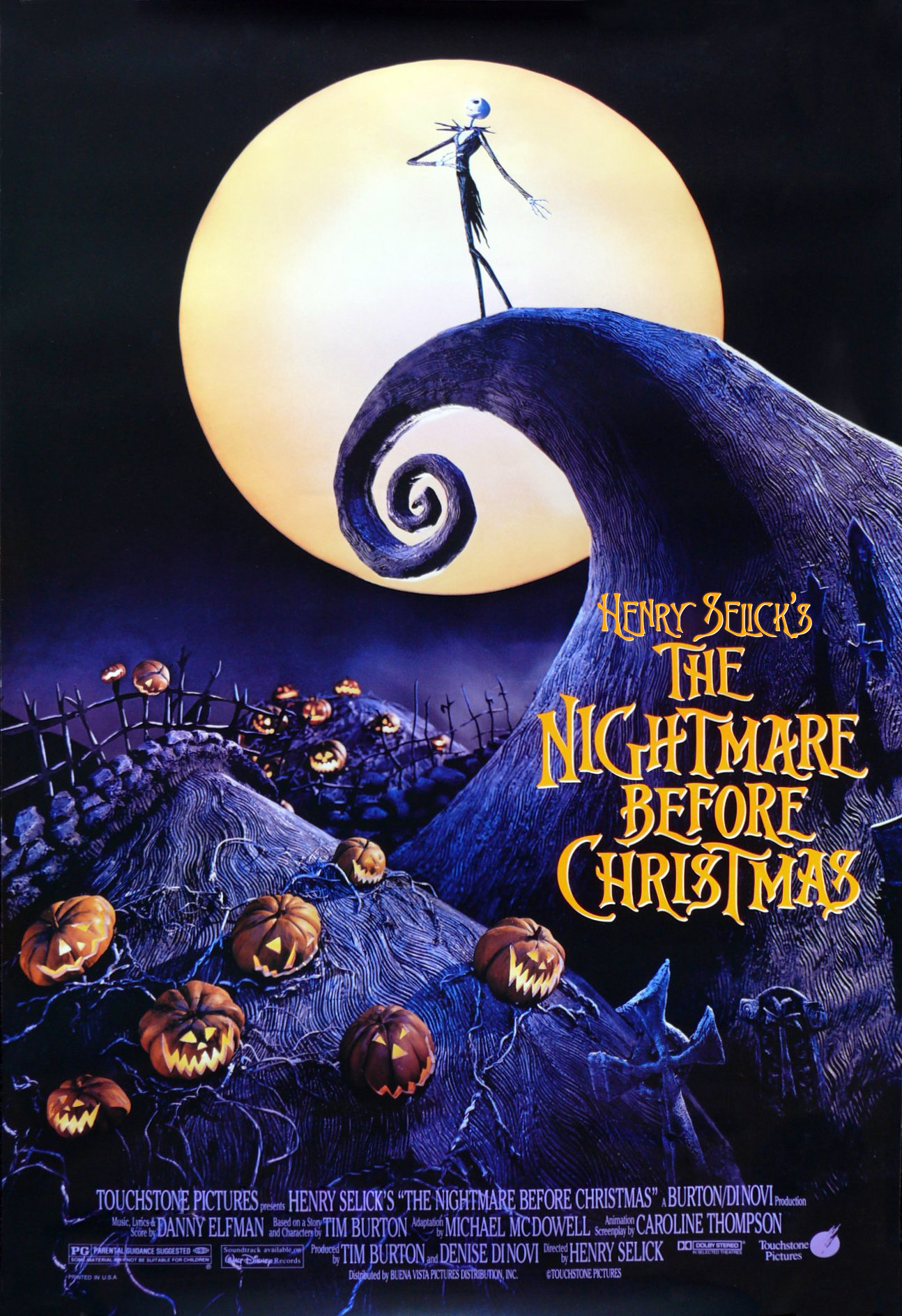 Henry Selick s the nightmare before christmas