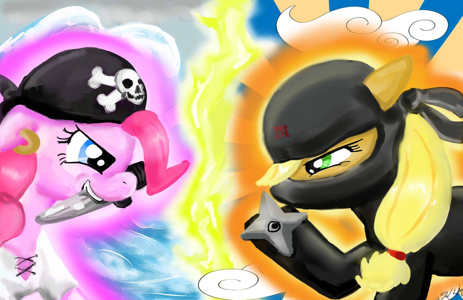 pirate pie vs ninjack my little pony friendship is magic know